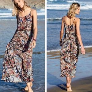 Peruvian Connection Arita Abstract Maxi Dress